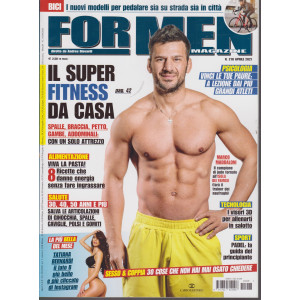 For Men Magazine - n. 218 -aprile  2021 - mensile