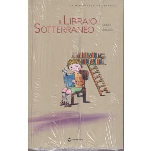 La biblioteca dei ragazzi -Il libraio sotterraneo - Guido Quarzo- n.37  - settimanale -18/9/2021