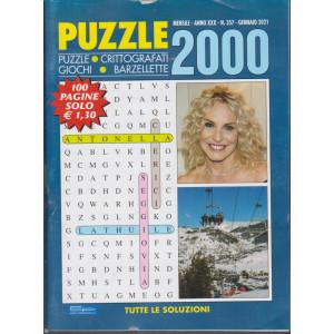 Puzzle 2000 - n. 357 - mensile -gennaio 2021 - 100 pagine