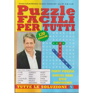 Puzzle Facili per tutti - n. 82 - bimestrale- novembre - dicembre  2021 - 120 giochi