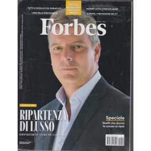 Forbes   - n.44  -giugno   2021 - mensile - 2 riviste