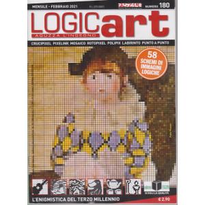 Logic Art - n. 180 - mensile - febbraio  2021