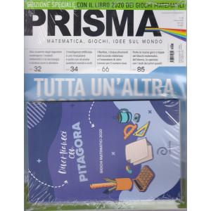 Prisma  - n. 28 - marzo 2021 - mensile + Libro Divertiamoci con Pitagora - Giochi matematici 2020 - rivista + libro