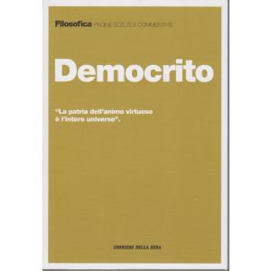 Filosofica -Democrito- n. 34 - settimanale - 191  pagine