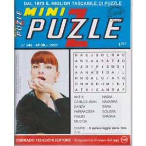 Minipuzzle - n. 546 - aprile  2021 - mensile