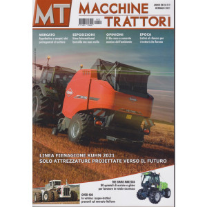 Macchine Trattori - n. 212 - gennaio 2021 - mensile