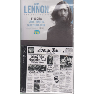 Cd Sorrisi Collezione 2 - n. 2 - John Lennon the collection -terza uscita    Some time in new York city -  22/12/2020 - settimanale