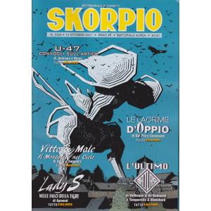 Skorpio - n. 2328 -14 ottobre 2021 - settimanale di fumetti