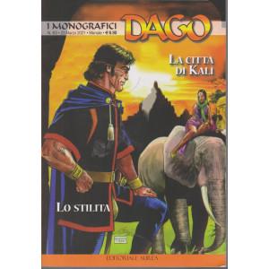 I monografici Dago - n. 63 -La città di Kali - Lo stilita -  23 marzo 2021 - mensile -