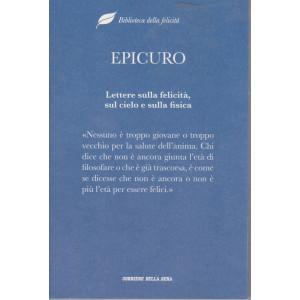 Biblioteca della felicità -Epicuro-  Lettere sulla felicità, sul cielo e sulla fisica - n. 7- settmanale - 473 pagine