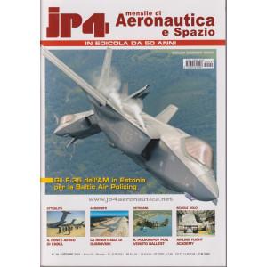 Jp4  - Mensile di Aeronautica e Spazio - n. 10  -ottobre 2021 - mensile