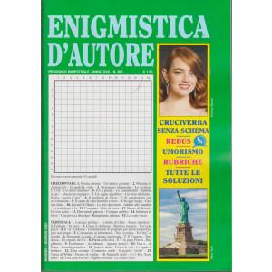 Enigmistica d'autore - n. 206 - bimestrale - Maggio - giugno  2021 -