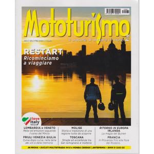 Mototurismo - n. 265 -gennaio - febbraio 2021 - bimestrale