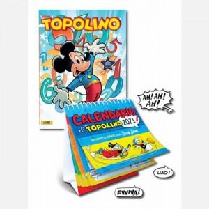 Disney Topolino n°3392 + Calendario 2021 di Topolino - cm. 15 x 16 con spirale