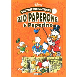 Don Rosa Library - N° 11 - Zio Paperone & Paperino - Panini Disney