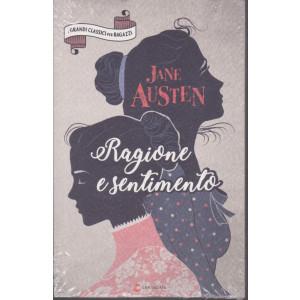I grandi classici per ragazzi -Jane Austen - Ragione e sentimento -  n. 38 -9/1/2021- settimanale