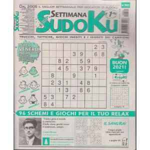 Settimana Sudoku - n. 802 - settimanale - 24 dicembre 2020
