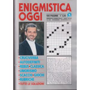 Enigmistica Oggi - n. 293 - bimestrale -novembre - dicembre 2021 - 100 pagine