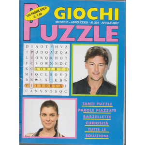 Giochi Puzzle - n. 384 - mensile - aprile 2021- 100 pagine