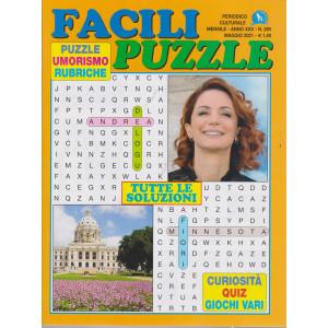 Facili puzzle - n. 290 - mensile - maggio  2021