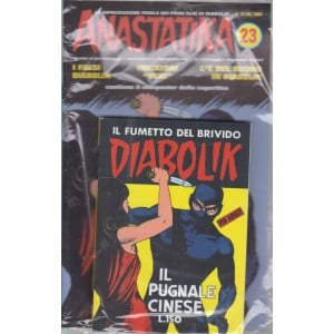 Diabolik + Anastatika - n. 23  del 1964 -Il pugnale cinese - settimanale -