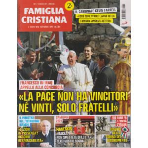 Famiglia Cristiana - n-11- settimanale - 14 marzo 2021