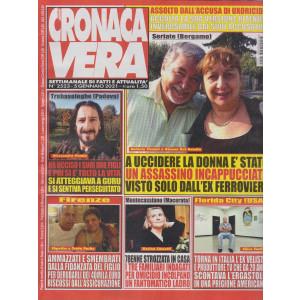 N.Cronaca Vera - n. 2523- 5 gennaio 2021- settimanale di fatti  e attualità