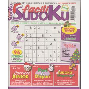Settimana sudoku facili - n. 7 - mensile - 11/12/2020