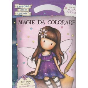 Gorjuss collection - Magie da colorare - n. 6 -luglio - agosto 2021 - bimestrale