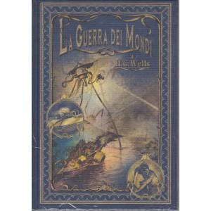I primi maestri del fantastico -La guerra dei mondi - di H.G. Wells - n. 4 - 19/2/2021 - settimanale - copertina rigida