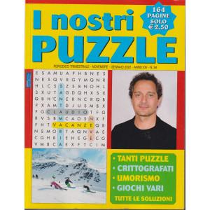 I Nostri Puzzle - n.94  - trimestrale - novembre - gennaio 2022    - 164 pagine