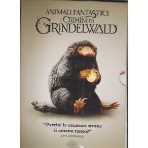 I dvd Sorrisi collection - n. 16 -Animali fantastici i crimini di Grindelwald - 18 maggio  2021 - settimanale - decima  uscita