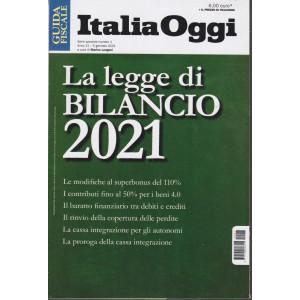 Guida  fiscale - Italia Oggi -La legge di Bilancio 2021 - n. 1 - 5 gennaio 2021