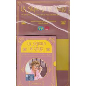 I Dvd di Sorrisi 6 -  n. 4 - La signora in giallo - quinta  uscita - doppio dvd - stagione 2 - 15/12/2020 - settimanale -