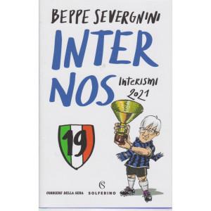 Beppe Severgnini - Inter nos - Interismi 2021 - bimestrale - copertina rigida