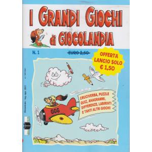 I grandi giochi di Giocolandia - n. 1 - bimestrale - luglio - agosto 2021