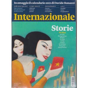 Internazionale - n. 1390- 23/7 gennaio  2021 - settimanale - 2 riviste + il calendario 2021 Davide Bonazzi