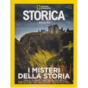 National Geographic - Storica  Dossier - I misteri della storia- n. 7  - maggio  2021 -bimestrale