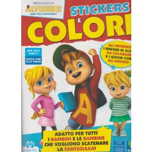 Alvinnn!!! And the chipmunks stickers e colori - n. 2 - febbraio - marzo 2021- bimestrale