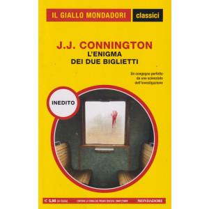 Il giallo Mondadori - classici - J.J. Connington - L'enigma dei due biglietti - n. 1449- mensile   -201   pagine
