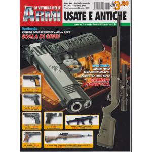La vetrina delle armi usate e antiche - n. 196 - settembre 2021 - mensile