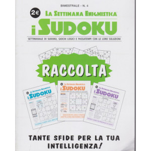 Abbonamento Raccolta Settimana Enigmistica I Sudoku (cartaceo  bimestrale)