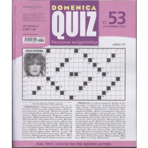 Domenica Quiz - n. 53- settimanale - 10 dicembre 2020