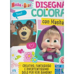 Masha e Orso - Disegna e colora con Masha  - n. 2 - aprile - maggio 2021 - bimestrale