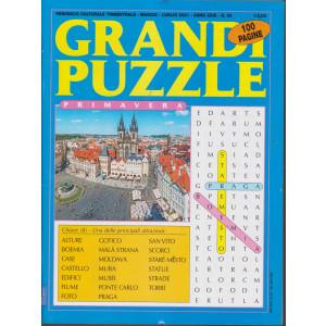 Grandi Puzzle -Primavera-  n. 90 - trimestrale -maggio - luglio  2021 - 100 pagine