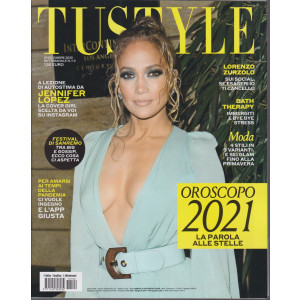 Tu Style - n. 1-2 - 29 dicembre 2020- settimanale