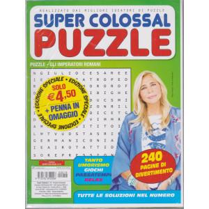Super Colossal - Puzzle - + penna in omaggio - n. 19 - bimestrale - dicembre 2020/gennaio 2021