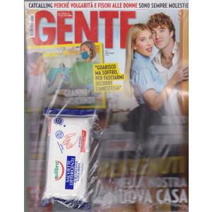 Gente - n. 14  - settimanale- 17/4/2021 + Salviette detergenti