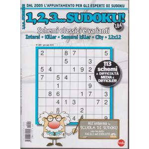 1,2,3 Sudoku! - n. 184 - mensile -gennaio 2021