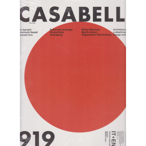 Casabella continuità - mensile n. 919 -  marzo 2021 - italiano - english